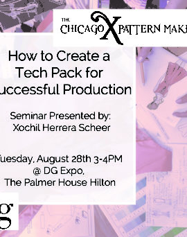 DG Expo 2018 Seminar: Using Tech Packs for Successful Production